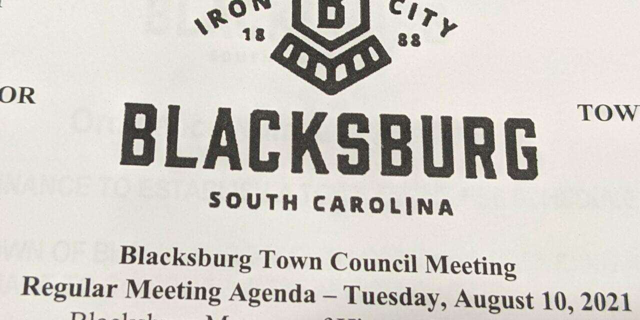 Blacksburg Town Council Meeting Aug. 10, 2021 Highlights